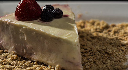 "Best Ever ""No Bake"" Cheesecake"