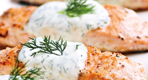Sally's Salmon Dill Bake