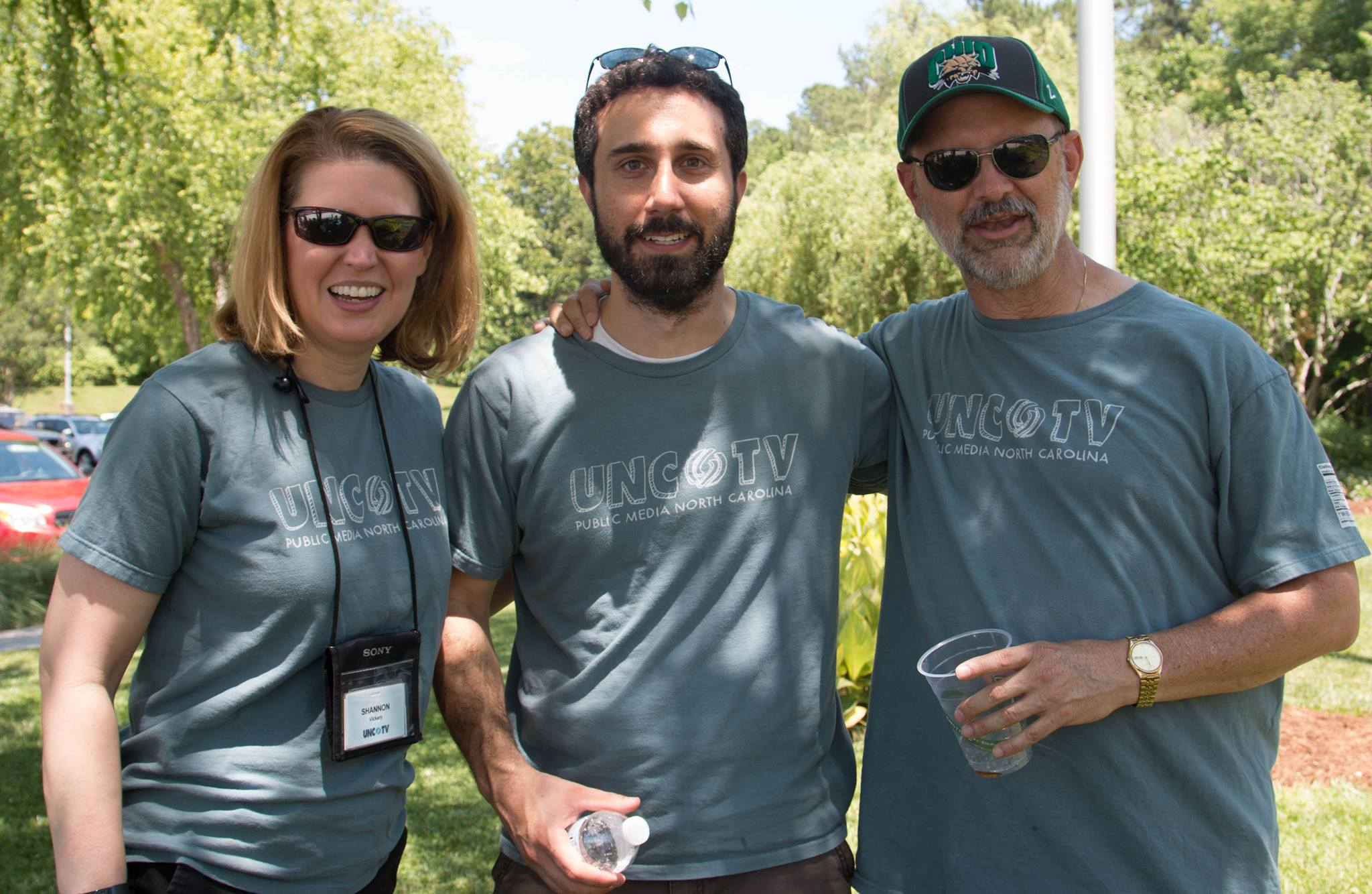 Photo of three employees