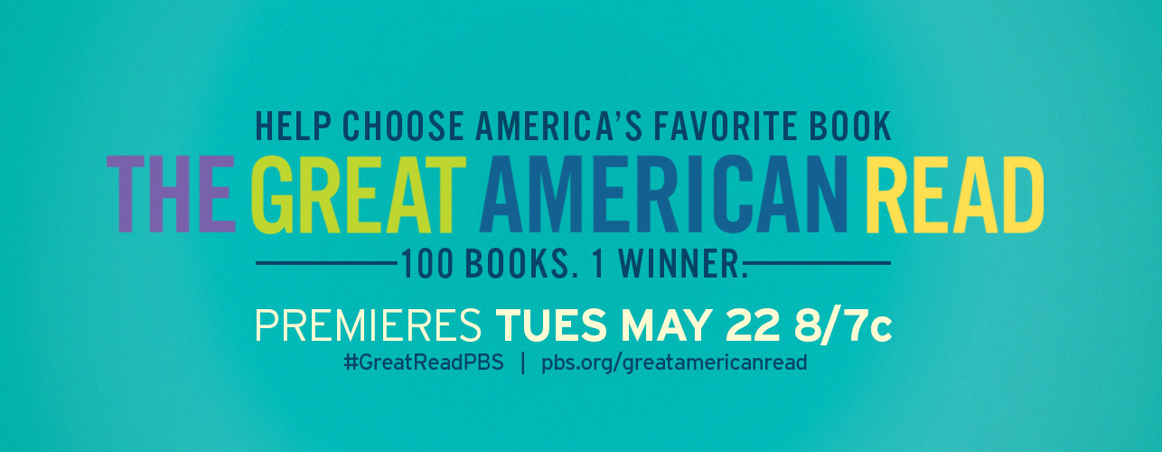 Don't miss The Great American Read, Tues. May 22 on UNC-TV!