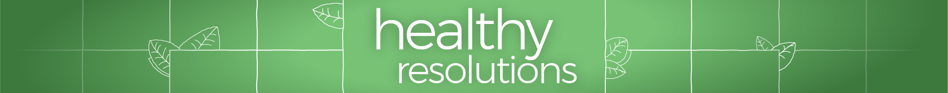 Healthy Resolutions Day
