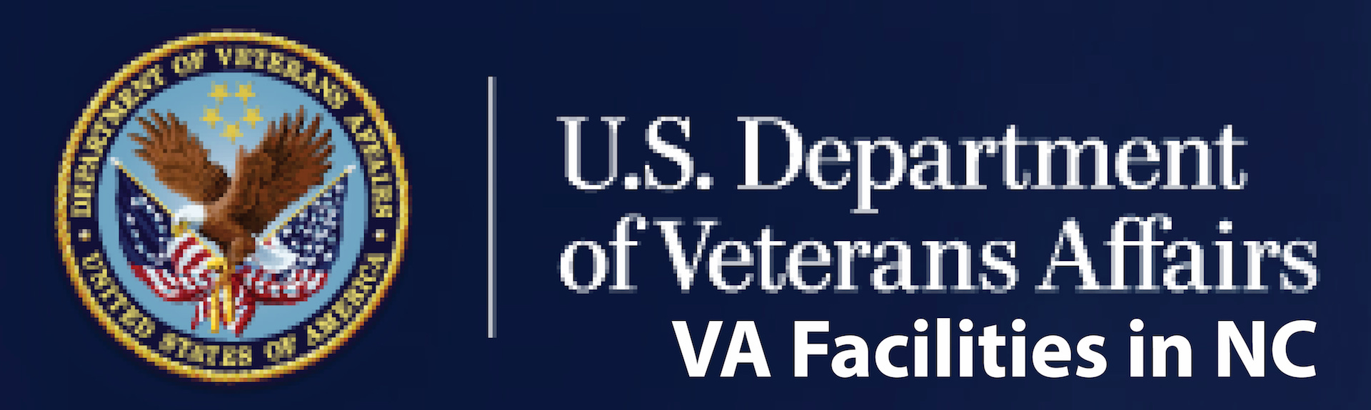 U.S. Department of Veterans Affair: VA Facilities in NC logo