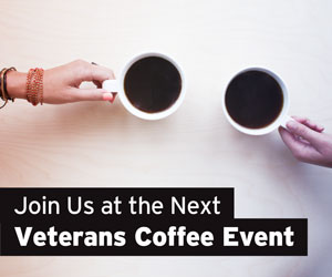 Join Us at the Next Veterans Coffee Event