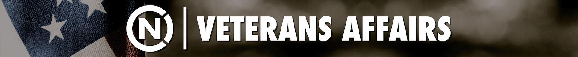 Veterans at UNC-TV Logo Banner