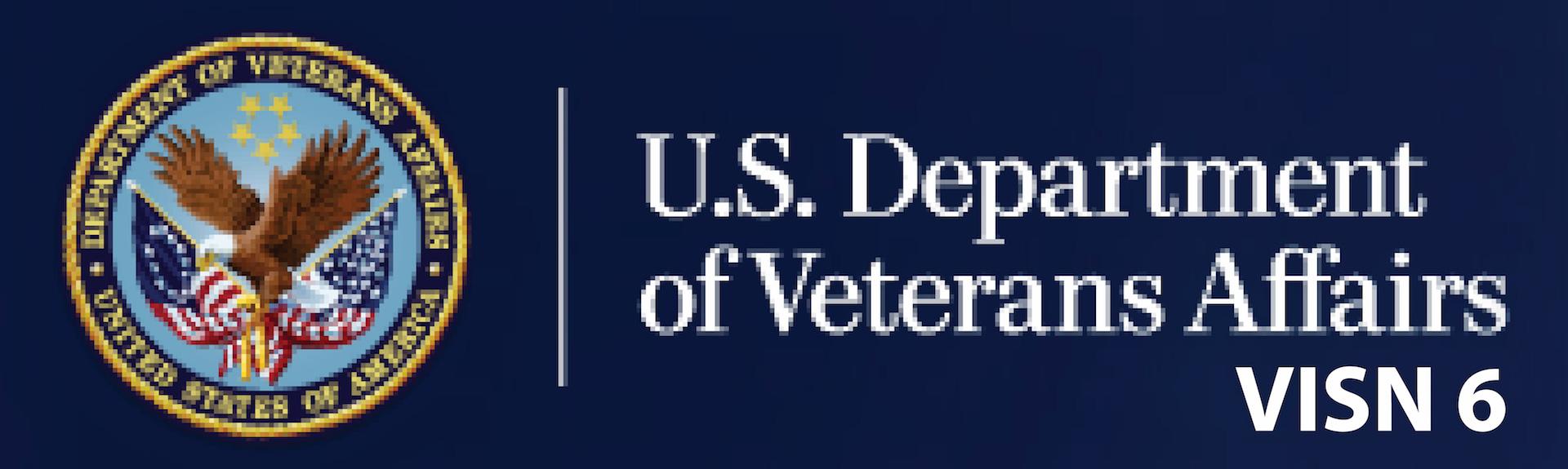 U.S. Department of Veterans Affairs Logo: VISN 6