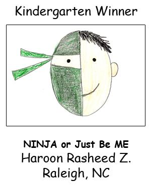 Kindergarten Winner Haroon Z. 2015