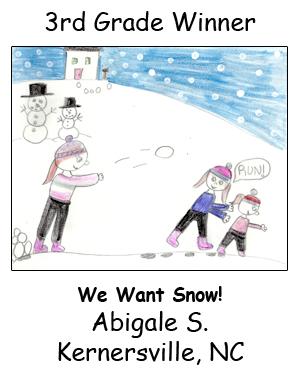 Third Grade Winner Abigale S. 2015