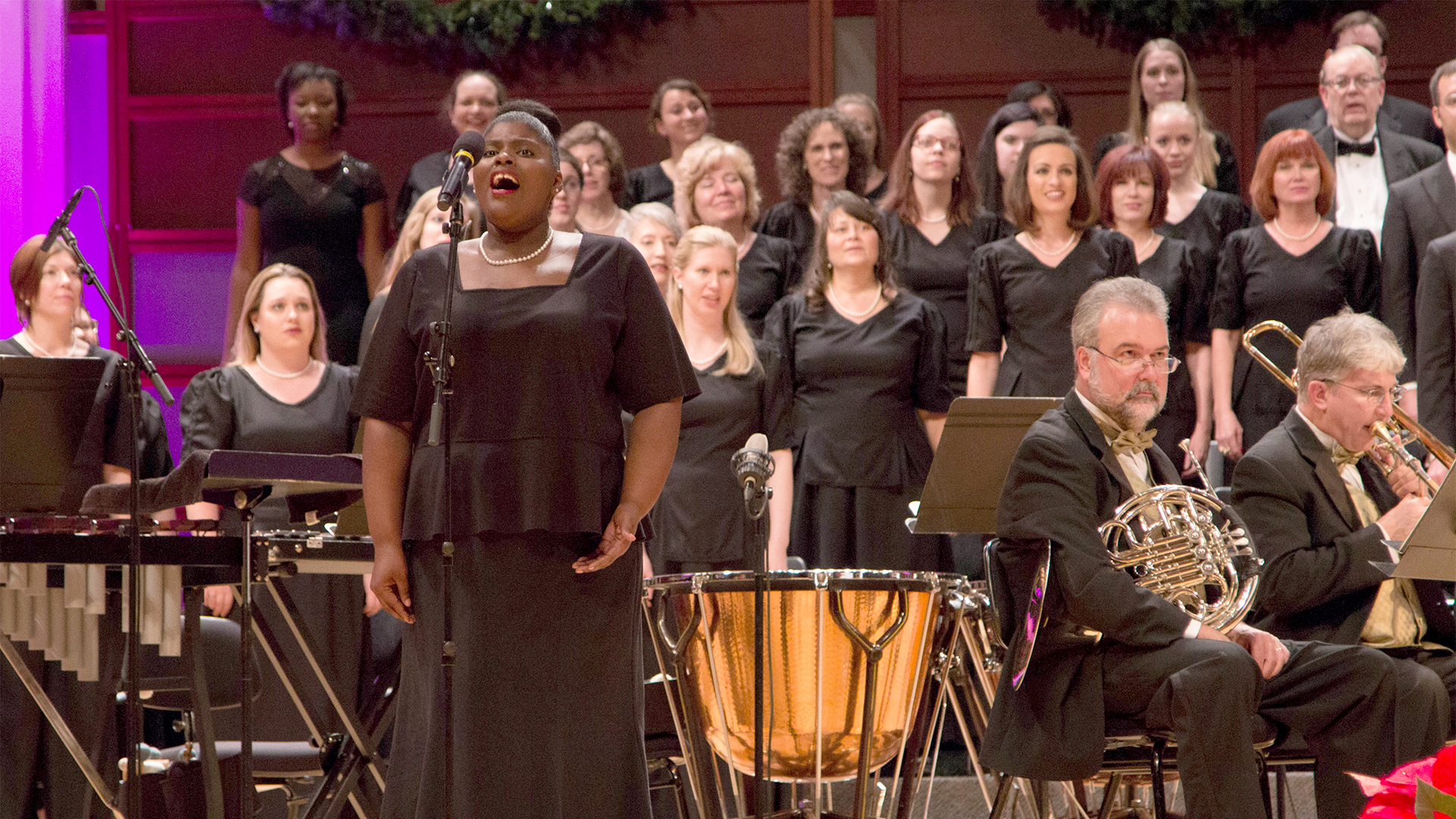 Watch North Carolina Master Chorale: Joy of the Season, Friday, December 8, at 9 PM on UNC-TV