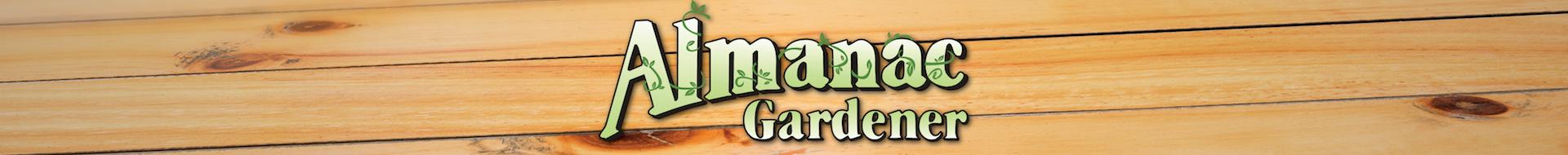 Almanac Gardner Logo Banner