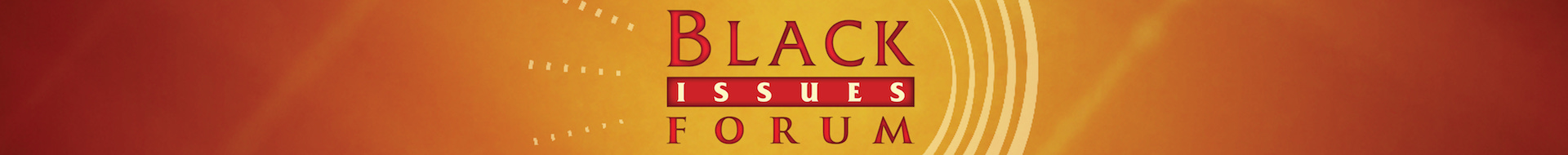 Black Issues Forum Logo Banner