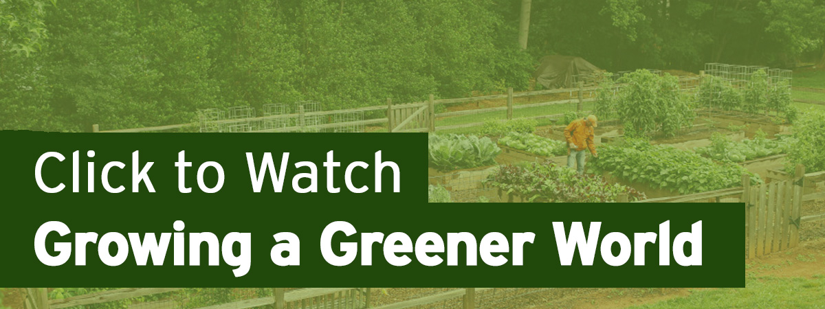 Click to Watch Growing A Greener World