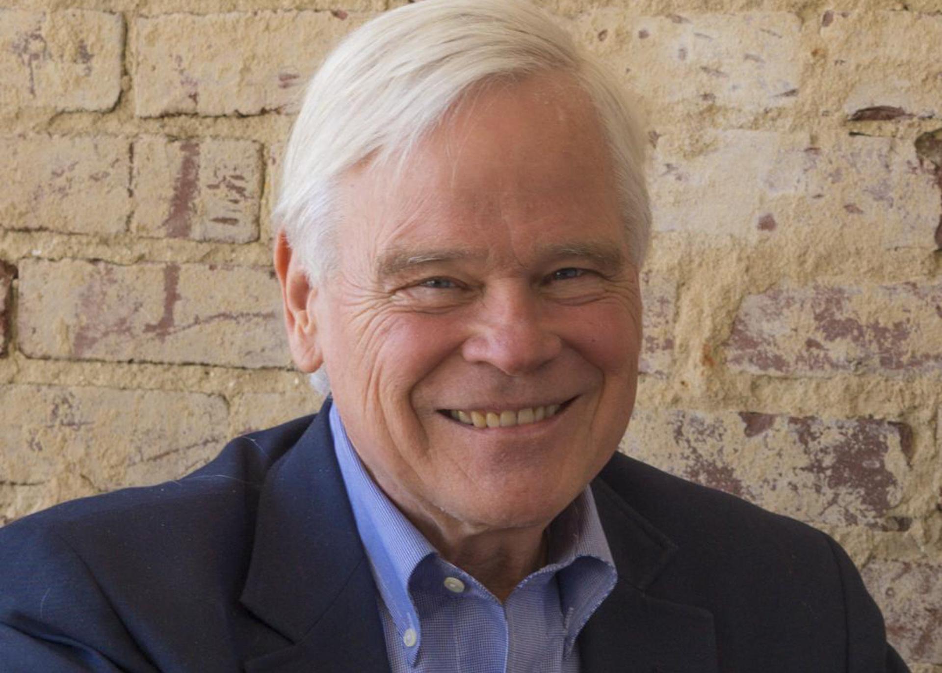 D.G. Martin - Host of NC Bookwatch - Headshot