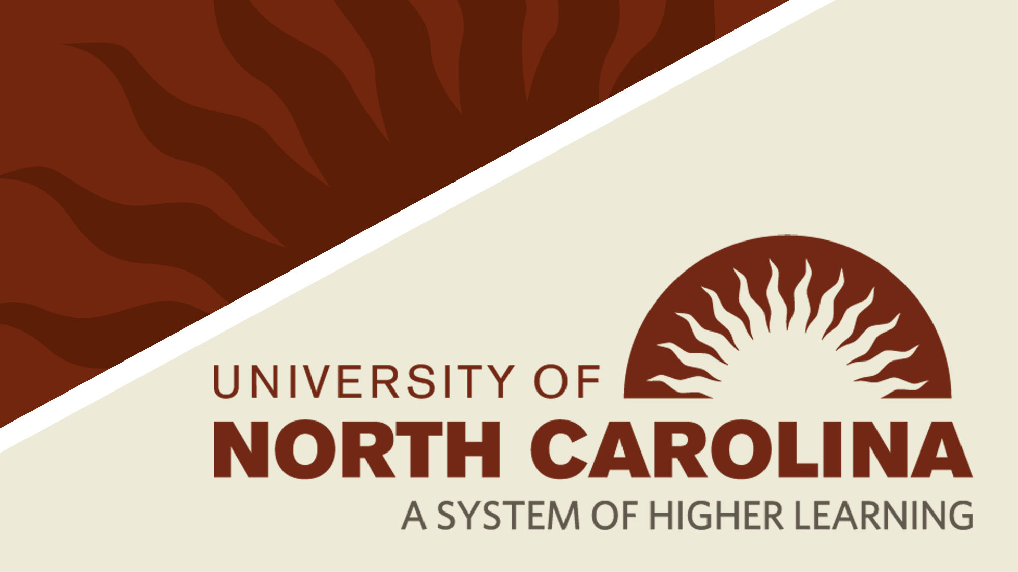 University of North Carolina - A system of Higher Learning