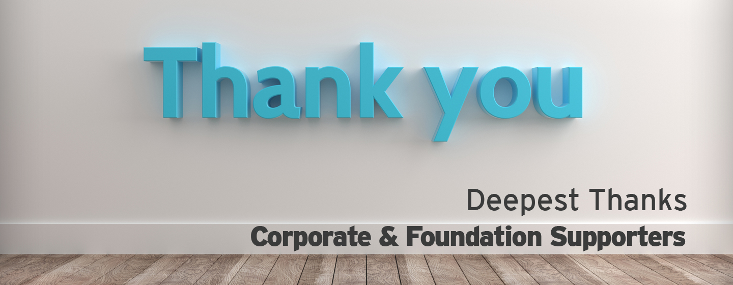 Corporate & Foundation Supporters