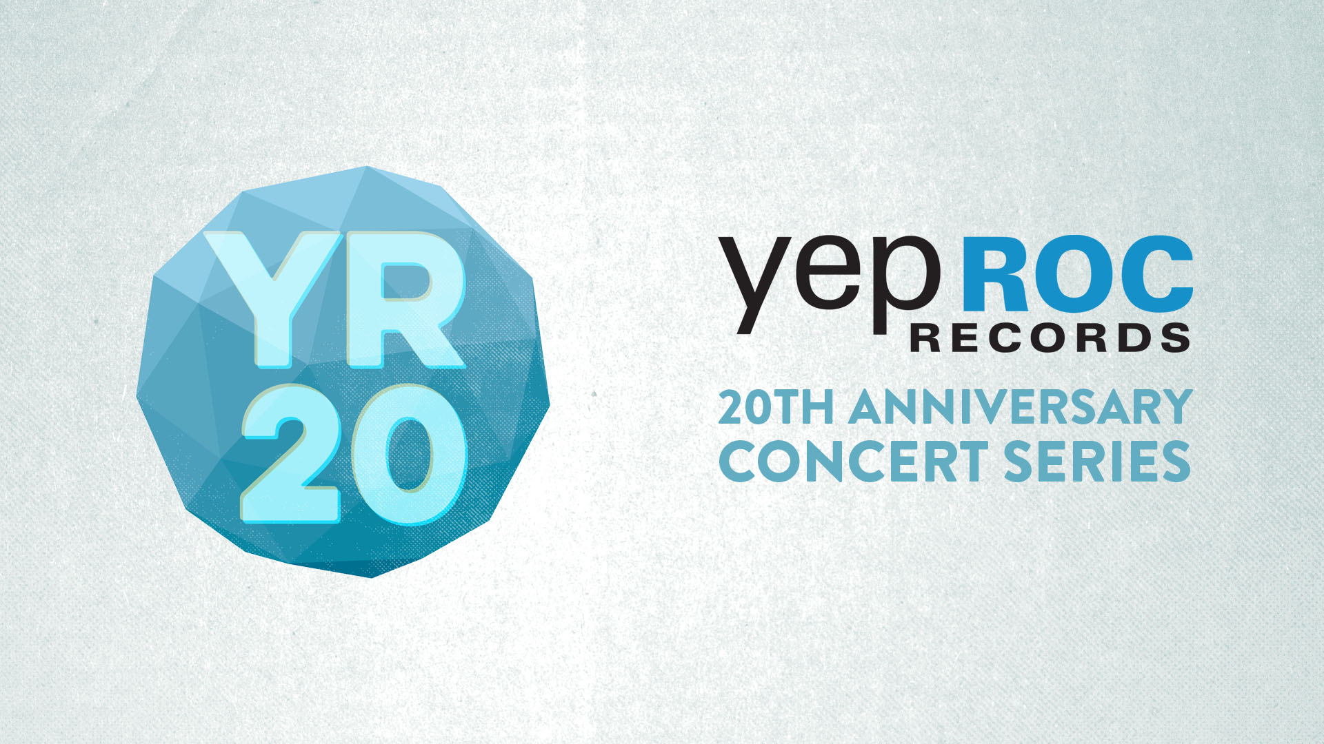 yepRoc RECORDS 20th ANNIVERSARY - October 21,2017 - 12noon