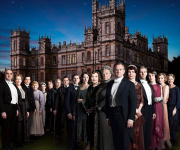 Photo of Downton Abbey cast