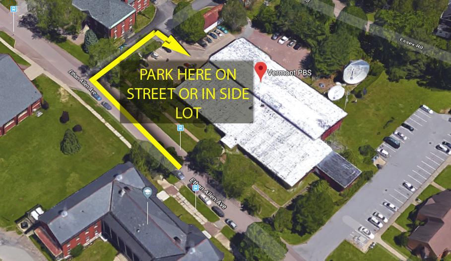 Illustration of parking lot
