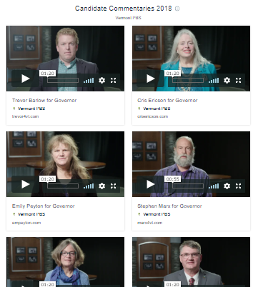 Watch Candidate Commentaries
