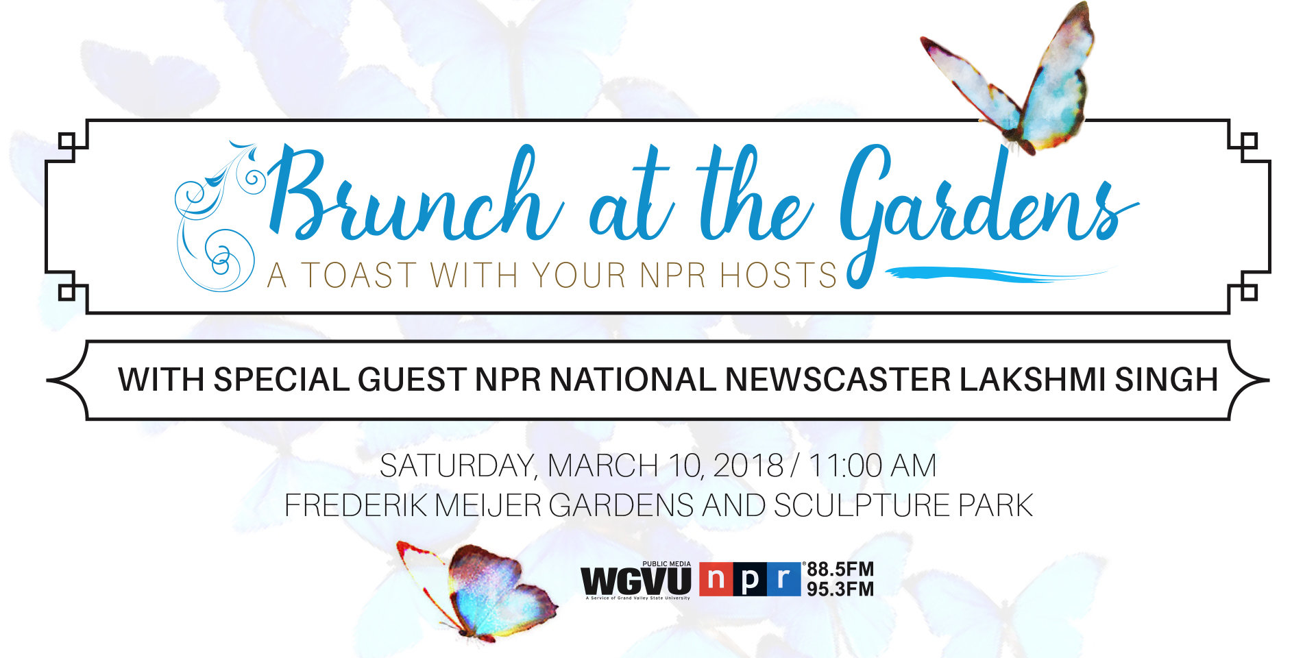 Brunch at the Gardens: A Toast With Your NPR Hostsod Wine &