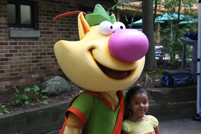 Nature Cat and child