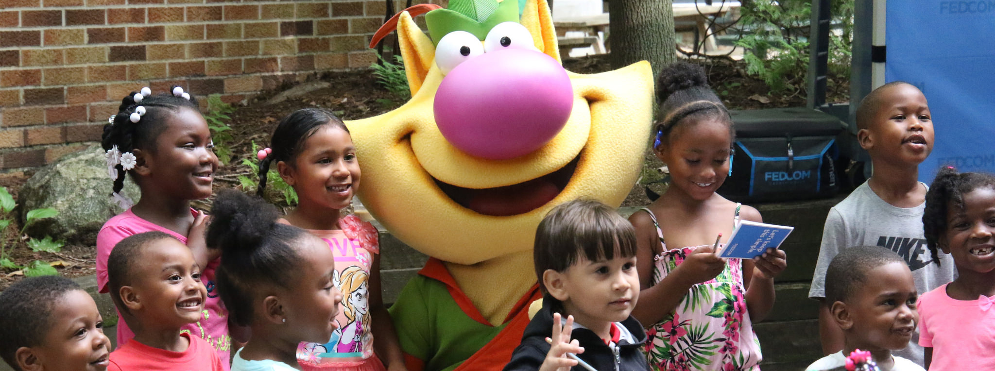 Kids with Nature Cat
