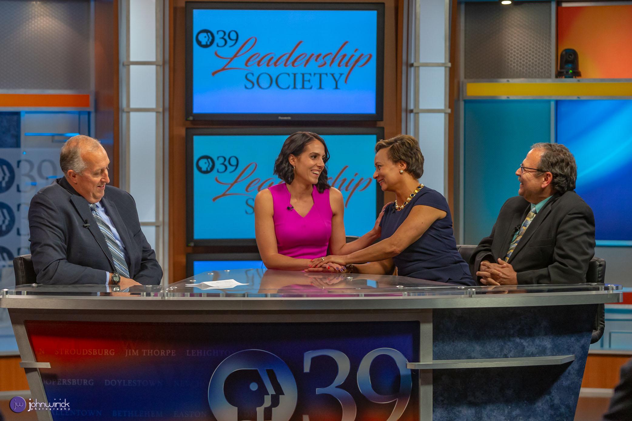PBS39's Jim Deegan, Tracy Yatsko, Monica Evans and Grover