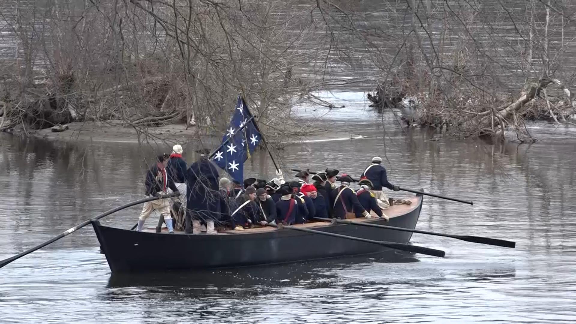 Remembering Washington S Crossing