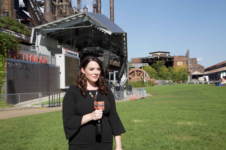 Reporter Megan Frank of PBS39