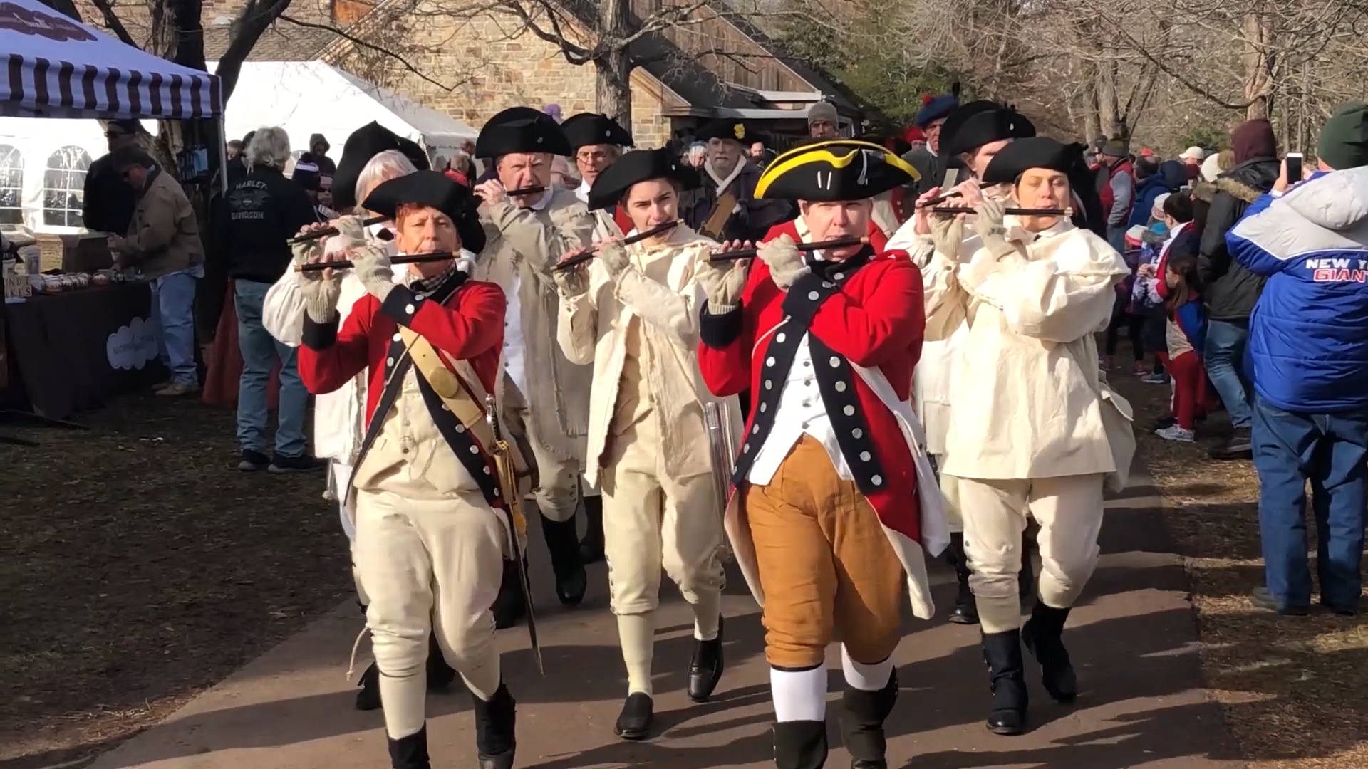 Washington Crossing Celebrates Annual River Crossing Reenactment