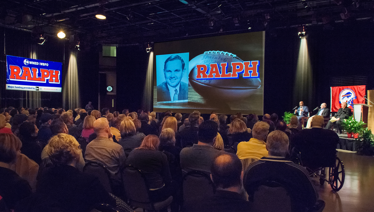 Public screening for WNED documentary on former Bills owner Ralph Wilson.