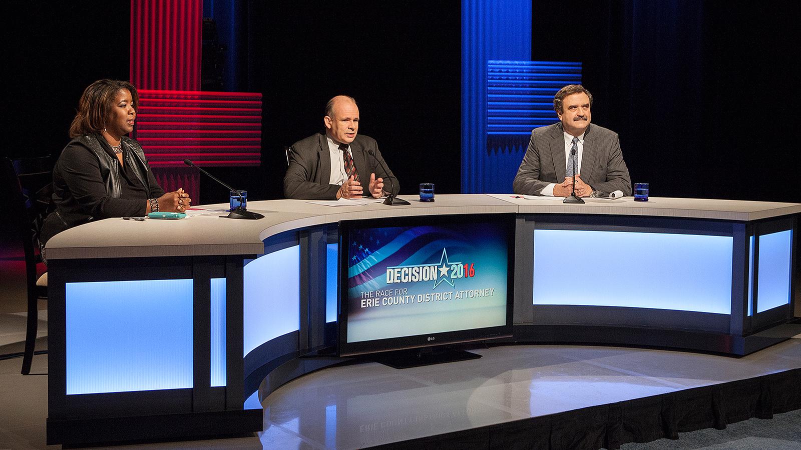 debate set