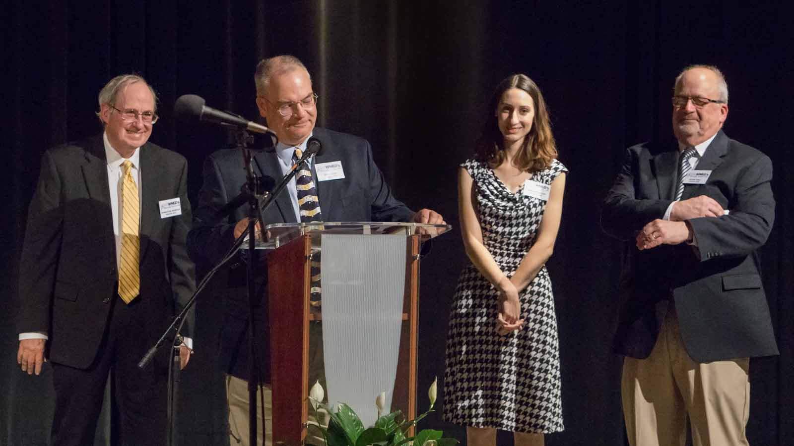 Classical 94.5's Stratton Rawson, Peter Hall, Bob Krum and Anna Whistler served as masters of ceremonies with special guests including past program hosts.