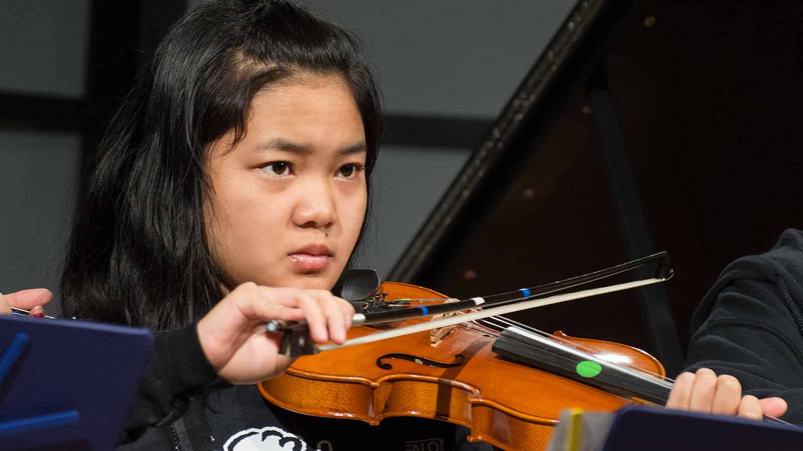 Young performer from Buffalo String Works