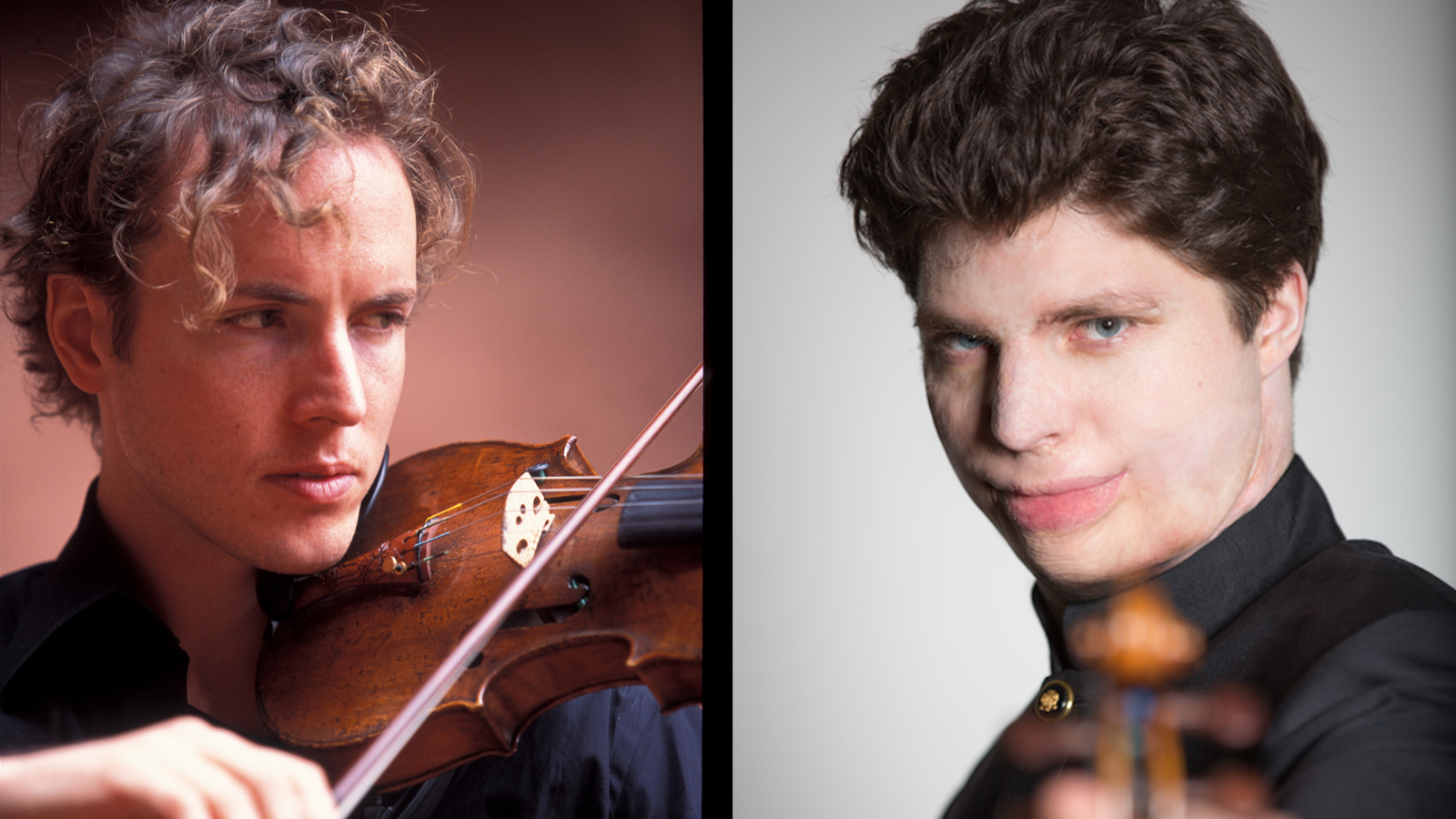 Tim Fain and Augustin Hadelich