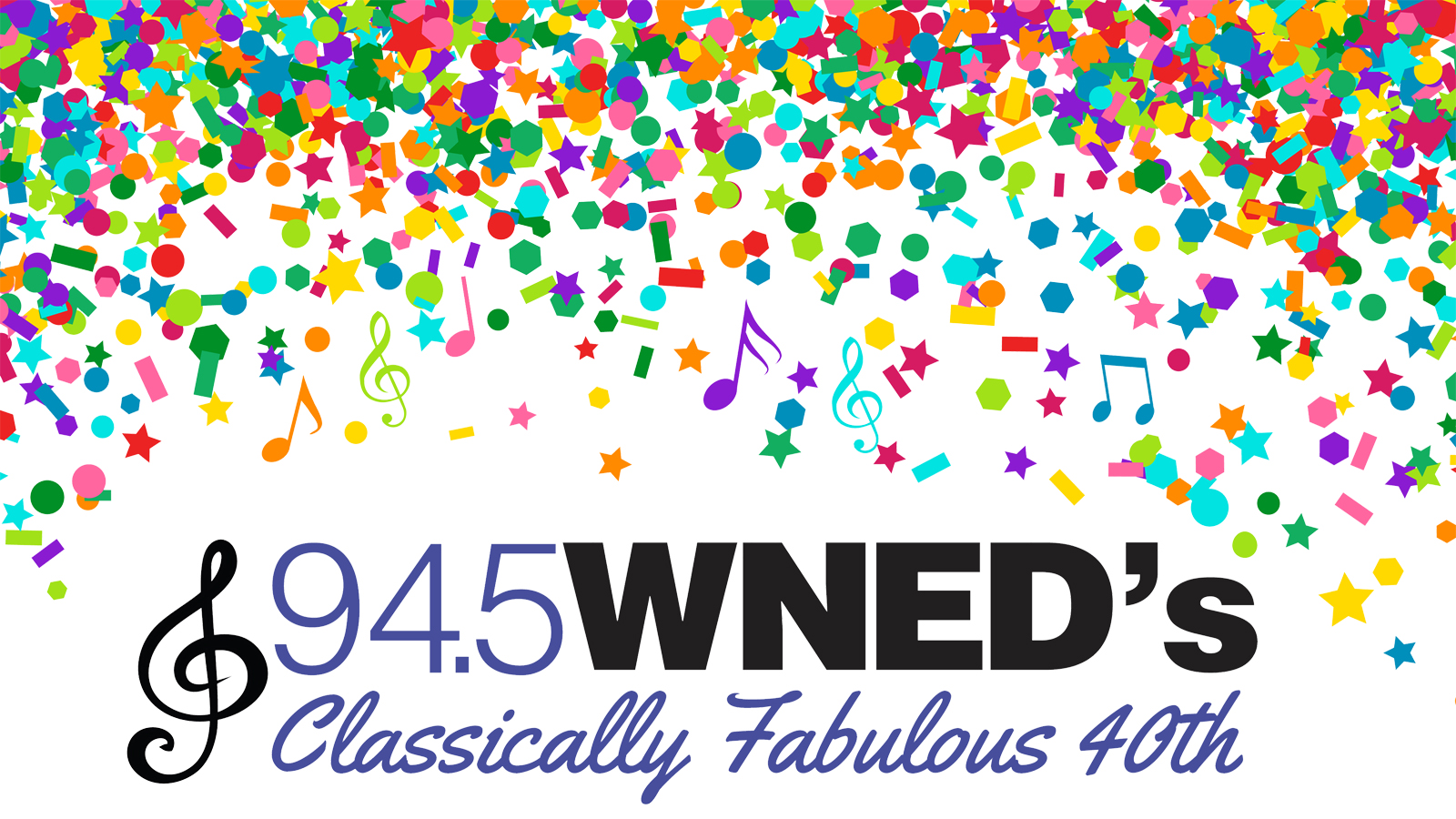 WNED's Classically Fabulous 40th |Saturday, November 4th