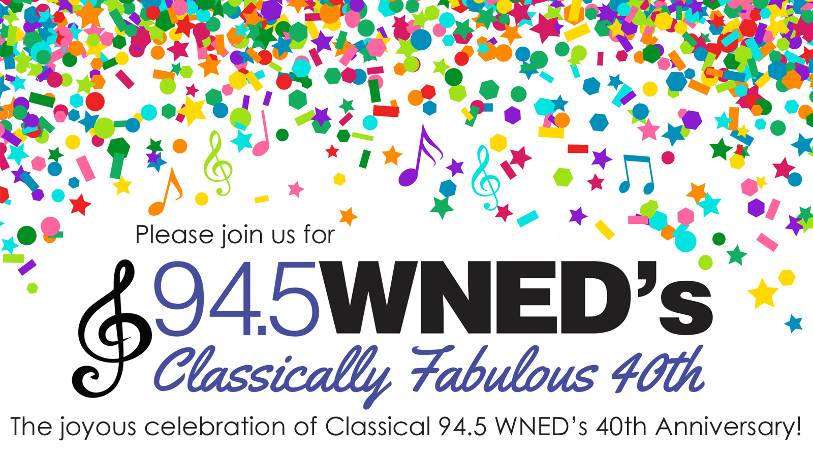 WNED's Classically Fabulous 40th!