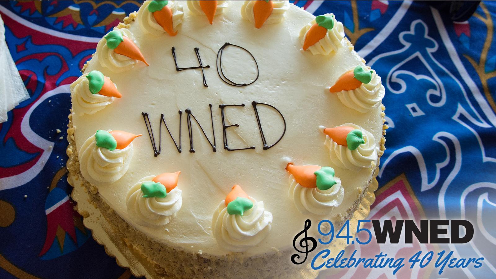 Cake Celebrating 40 Years
