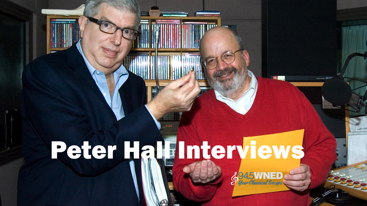 Peter Hall Interviews