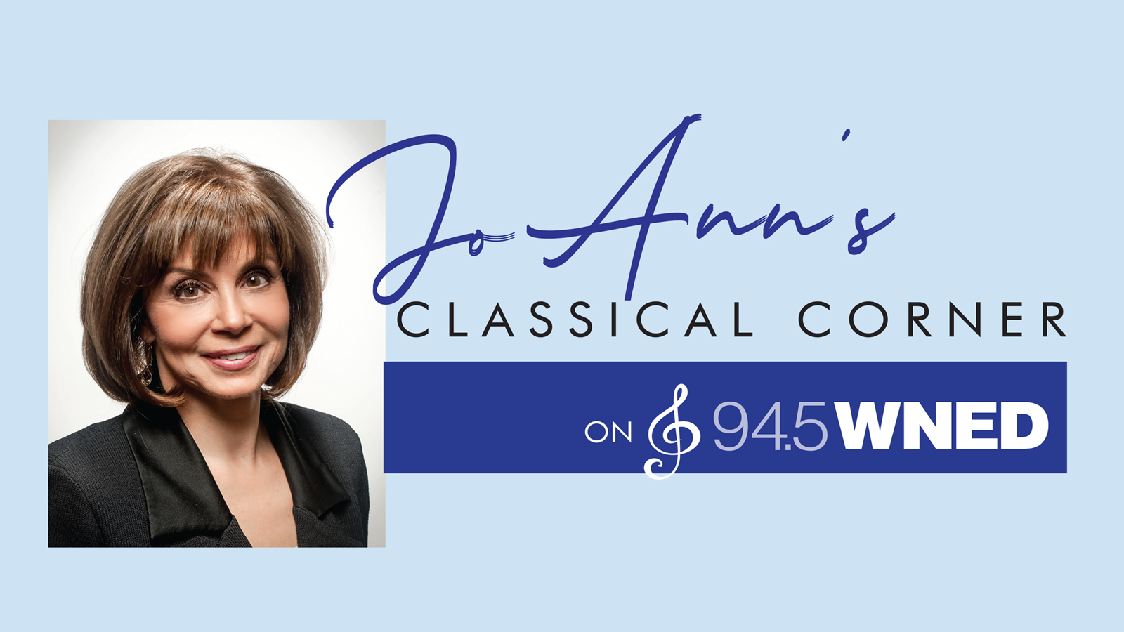 JoAnn's Classical Corner | Weekdays at 8:30am