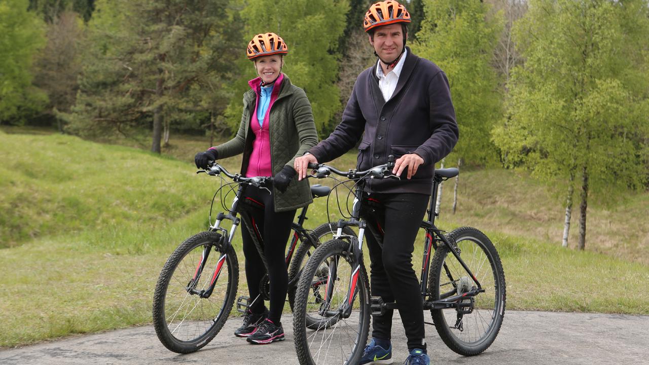 Darley Newman takes a two-wheeled trip through northeastern France