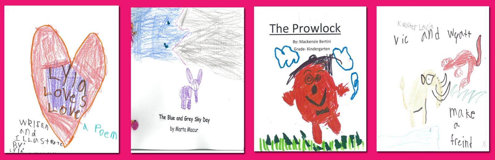 Kindergarten Winning Stories