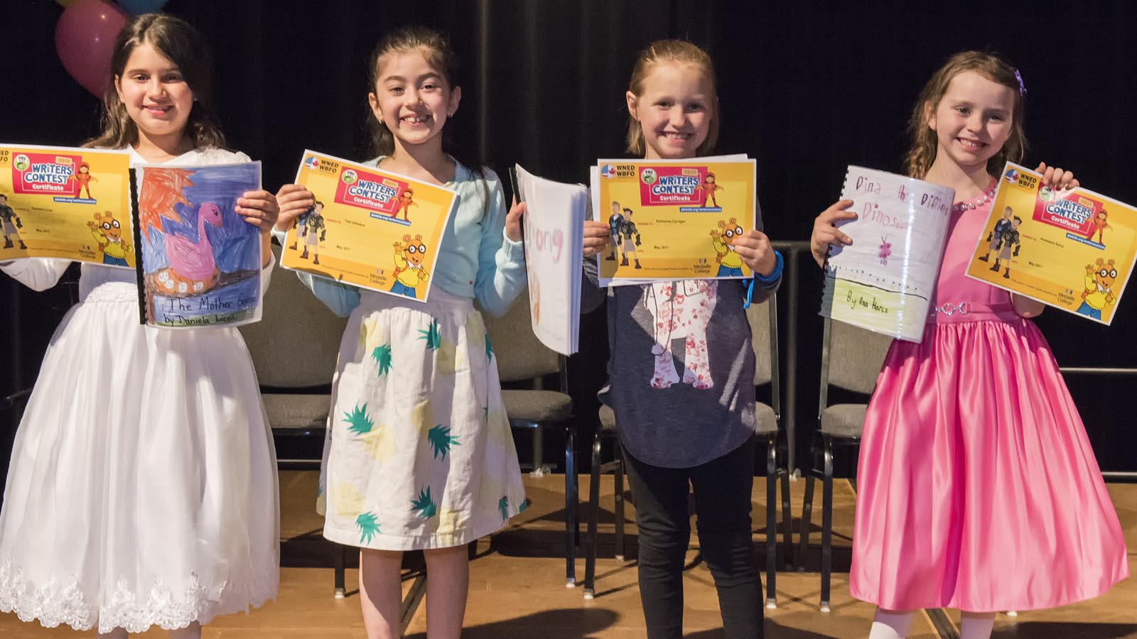 Second Grade Winning Authors