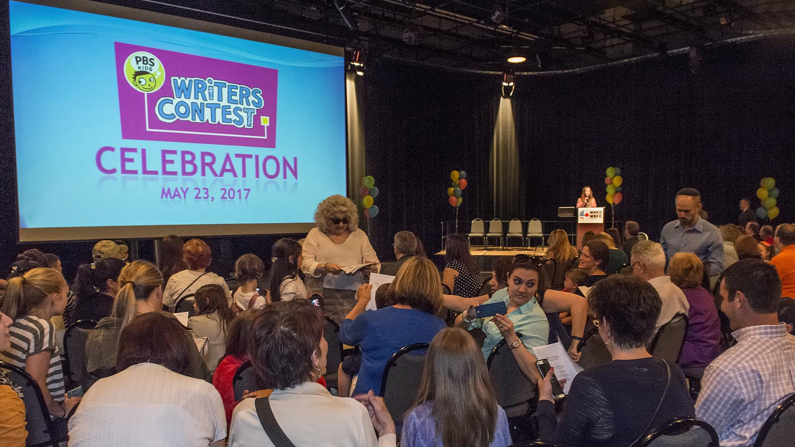 PBS KIDS Writer's Contest Celebration