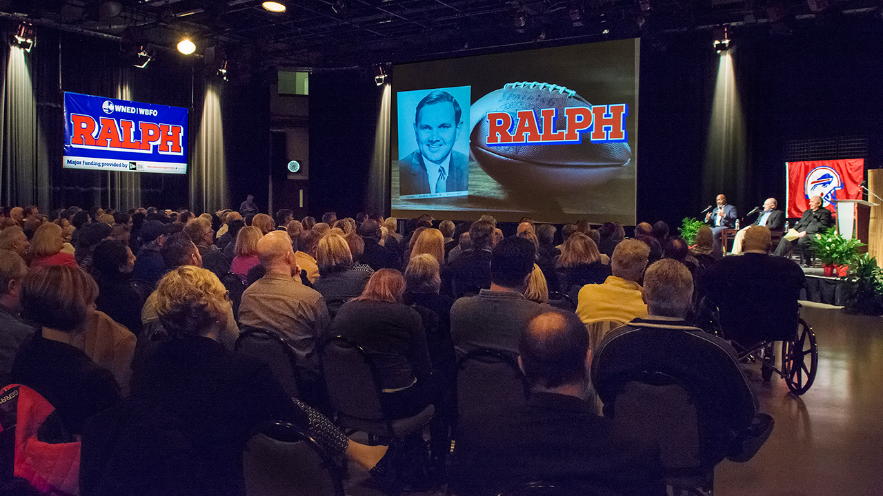 Preview Screening of Ralph, at WNED-TV Studios, November 13, 2017