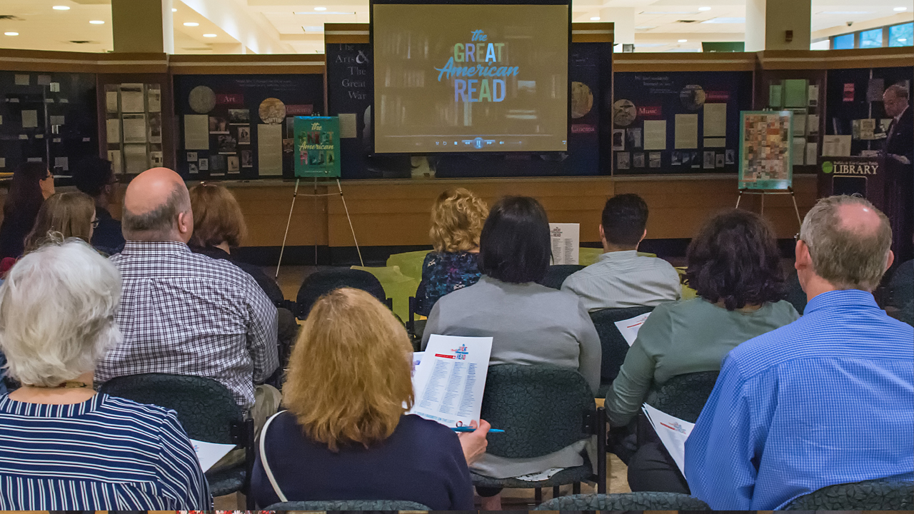 he Great American Read launch event at the Buffalo Central Library May 22, 2018.