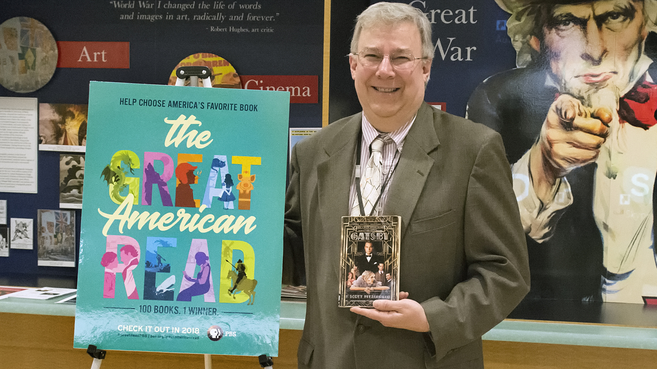 Buffalo & Erie County Public Library's Ken Stone selects his favorite book for The Great American Read