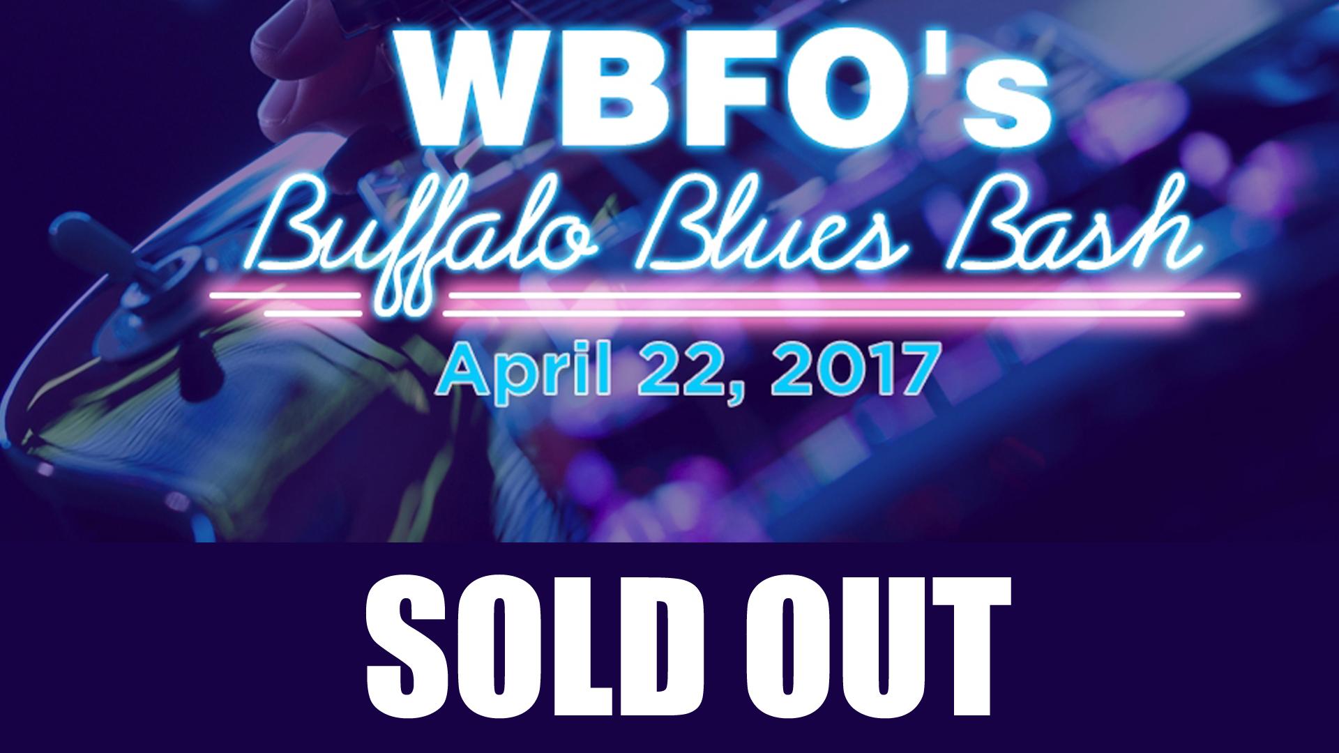 WBFO's Buffalo Blues Bash Returns April 22
