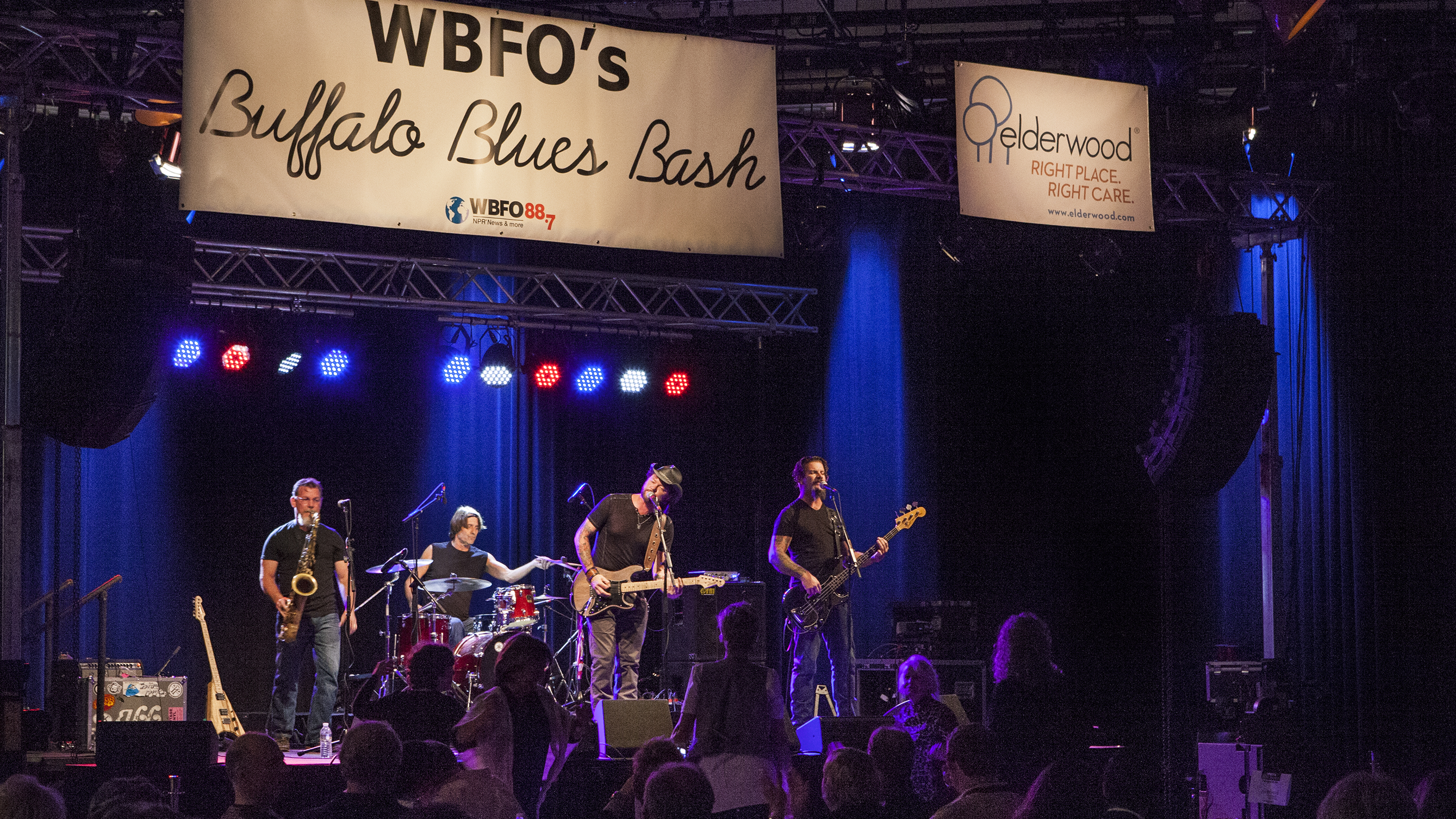 St. Louis' Jeremiah Johnson Band headlined WBFO's Buffalo Blues Bash in October 2016