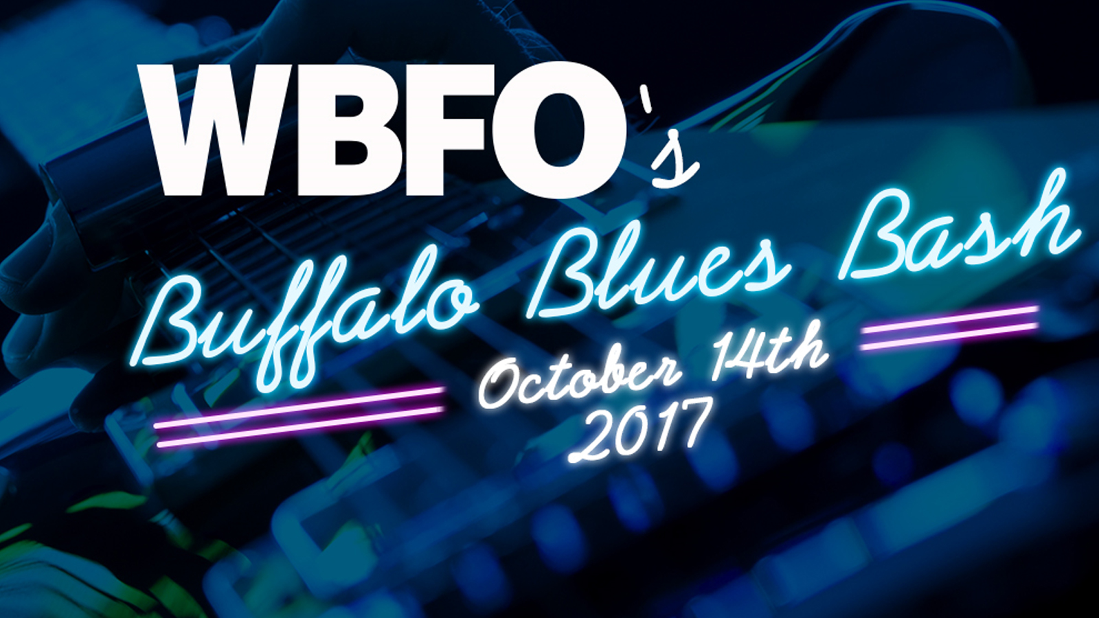WBFO's  Buffalo Blues Bash | Oct. 14