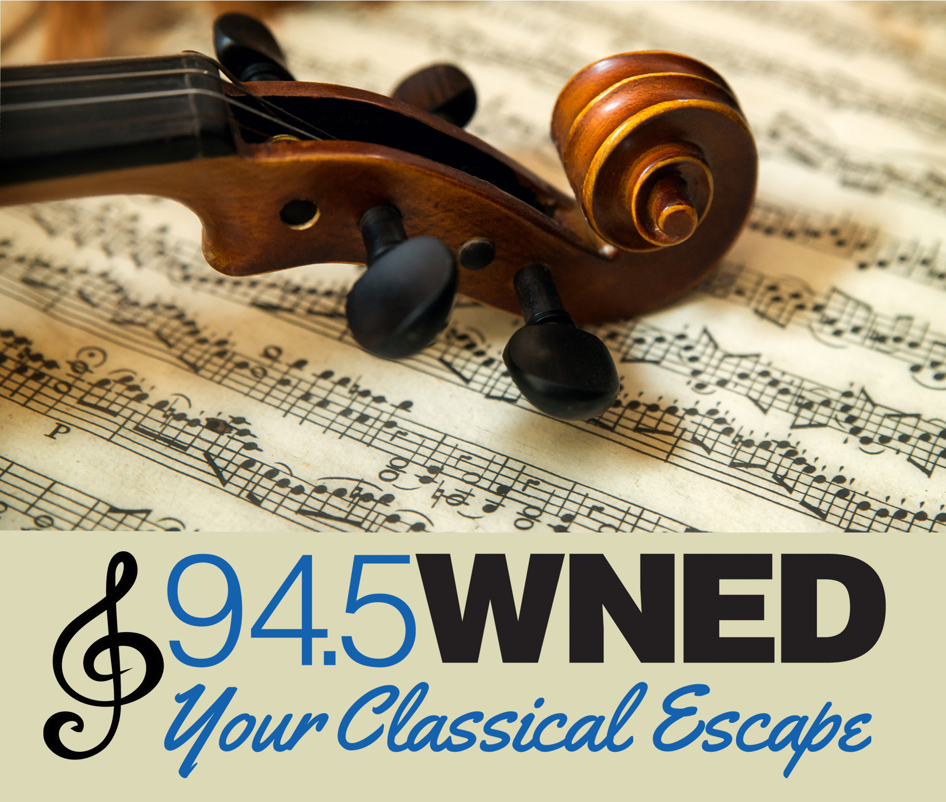WNED Classical 94.5, Your Classical Escape